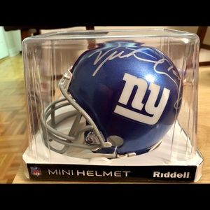 Other - Autographed Giants mini helmet